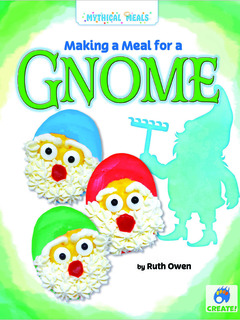 Making a Meal for a Gnome