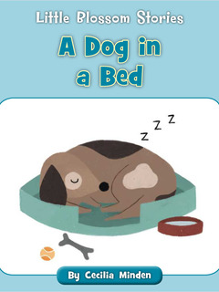 A Dog in a Bed