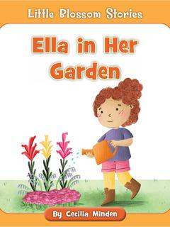Ella in Her Garden