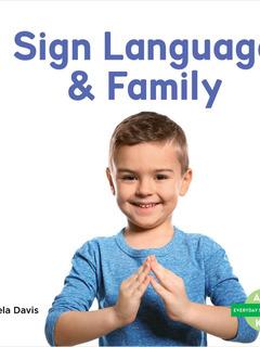 Sign Language & Family