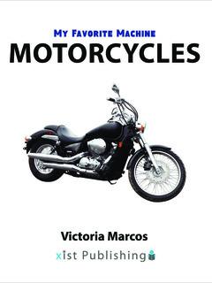 My Favorite Machine: Motorcycles