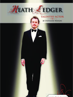 Heath Ledger: Talented Actor