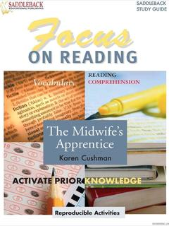 Midwife's Apprentice Reading Guide