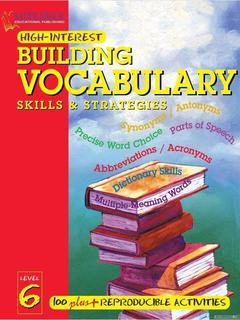 Building Vocabulary Skills and Strategies Level 6