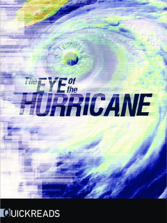 The Eye of the Hurricane