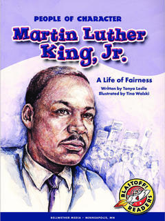 Martin Luther King Jr., A Life of Fairness