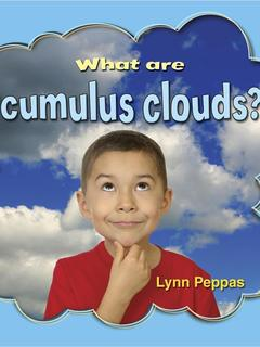 What are cumulus clouds?