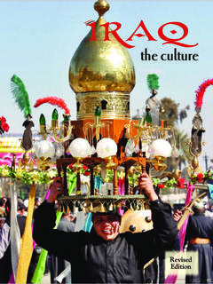 Iraq - the culture (revised, ed. 2)