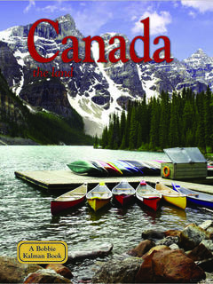 Canada - the land (revised, ed. 3)