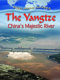 The Yangtze: China's Majestic River