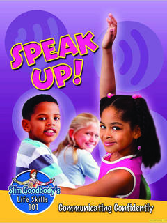 Speak Up! Communicating Confidently