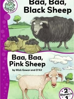 Baa Baa, Black Sheep and Baa Baa, Pink Sheep