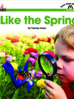 I Like the Spring!