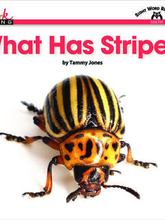 What Has Stripes?