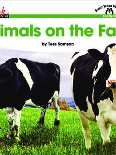 Animals on the Farm