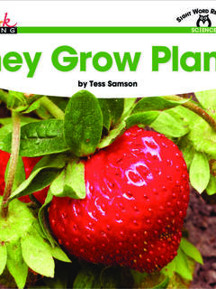 They Grow Plants