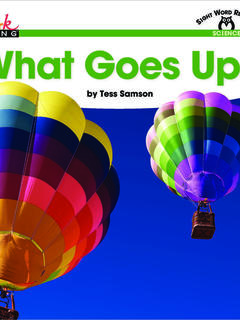 What Goes Up?