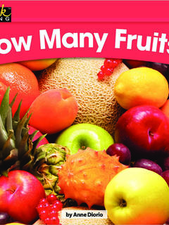 How Many Fruits?