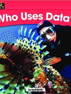 Who Uses Data?