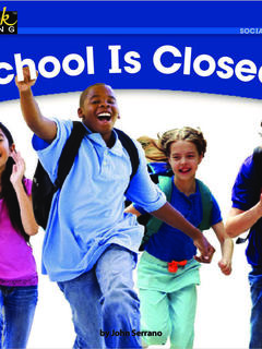 School is CLOSED!