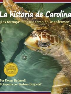 La historia de Carolina: ¡las tortugas marinas tambien se enferman!