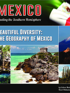 Beautiful Diversity: The Geography of Mexico