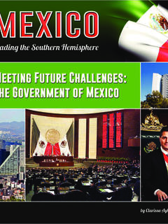 Meeting Future Challenges: The Government of Mexico