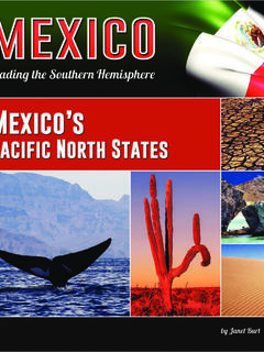Mexico's Pacific North States