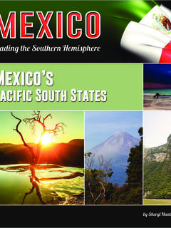 Mexico's Pacific South States