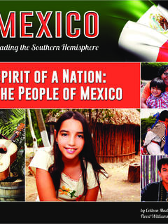 Spirit of a Nation: The People of Mexico