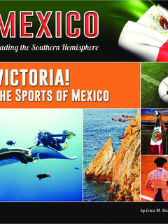 Victoria! The Sports of Mexico