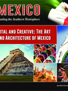 Vital and Creative: The Art and Architecture of Mexico
