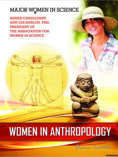 Women in Anthropology