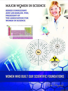 Women Who Built Our Scientific Foundations