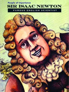 Sir Isaac Newton: Famous English Scientist