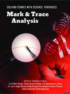 Mark & Trace Analysis