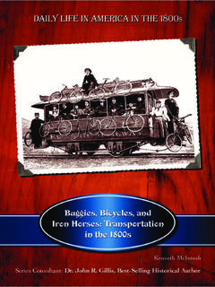 Buggies, Bicycles, and Iron Horses: Transportation in the 1800s