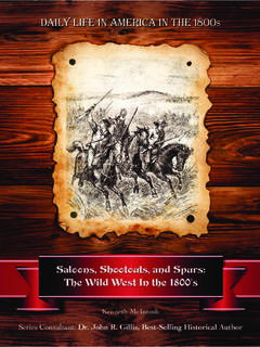 Saloons, Shootouts, and Spurs: The Wild West In the 1800's