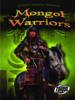 Mongol Warriors