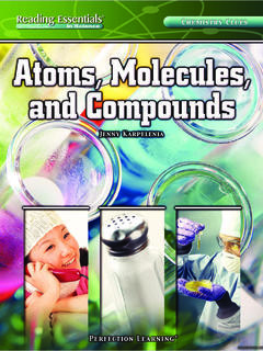 Atoms, Molecules, and Compounds
