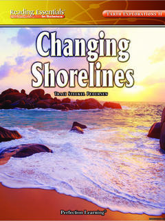 Changing Shorelines