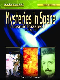 Mysteries in Space: Cosmic Puzzles