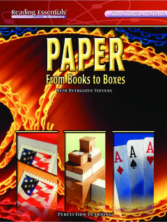 Paper: From Books to Boxes