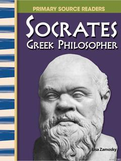 Socrates, The Greek Philosopher