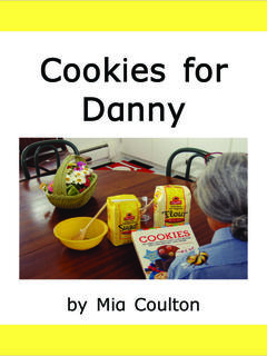 Cookies for Danny