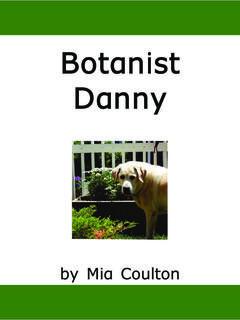 Botanist Danny