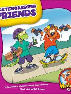 Skateboarding Friends