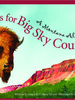 B is for Big Sky Country: A Montana Alphabet