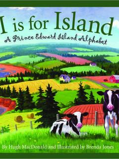 I is for Island: A Prince Edward Island Alphabet