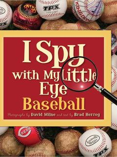 I Spy with My Little Eye Baseball